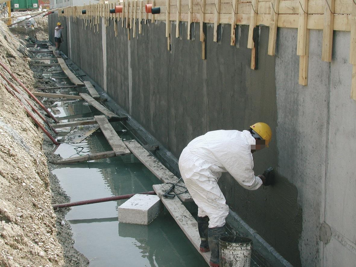Оклеечная гидроизоляция колодцев материалом гидротекс открыть свой бизнес наливные полы